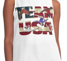 Team USA Gymnastics  Contrast Tank