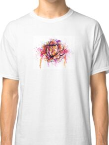 Colorful Cabbage Watercolor Classic T-Shirt
