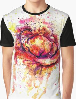 Colorful Cabbage Watercolor 2 Graphic T-Shirt