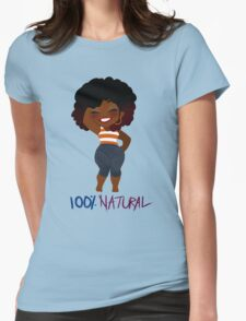 100% Natural - Ver. 3 Womens Fitted T-Shirt