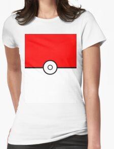 PokéBall LOGO Womens Fitted T-Shirt