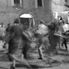 Dancing in Perugia by Adam Irving