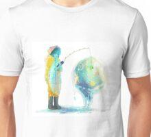 Lapis - Fishing the old fashioned way Unisex T-Shirt