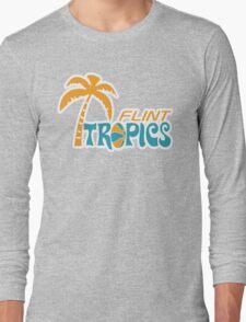 Flint Tropics Retro Long Sleeve T-Shirt