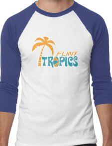 Flint Tropics Retro Men's Baseball ¾ T-Shirt