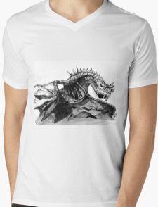 Paarthurnax, Skyrim, Elderscrolls, Fantasy Art, Video Games Mens V-Neck T-Shirt