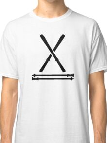 Ski equipment Classic T-Shirt