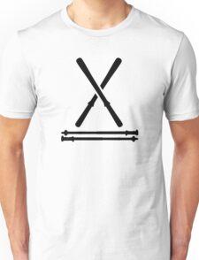 Ski equipment Unisex T-Shirt