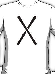 Crossed ski T-Shirt