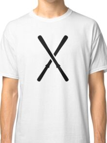 Crossed ski Classic T-Shirt