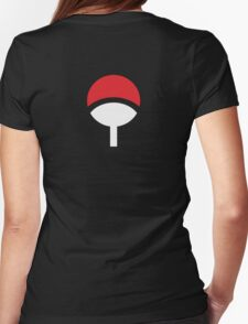 Klan Uchiha Womens Fitted T-Shirt