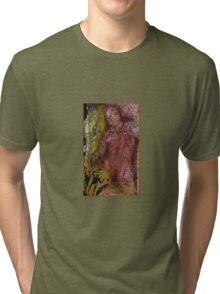the red warrior Tri-blend T-Shirt