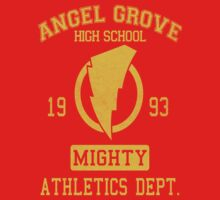 Angel Grove H.S. One Piece - Short Sleeve
