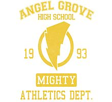 Angel Grove H.S. Photographic Print