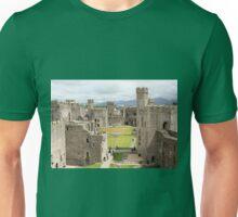Caernarfon Castle, Wales, United Kingdom Unisex T-Shirt