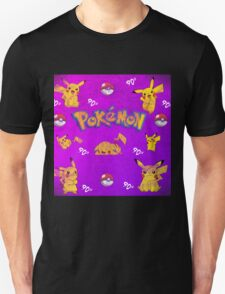 Pokemon Pattern Unisex T-Shirt