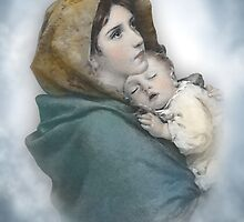 The Madonna, Nativity mother and child. by Irisangel