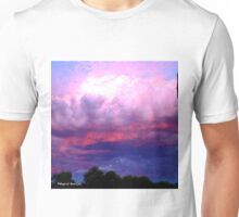 CLOUDS ON FIRE Unisex T-Shirt