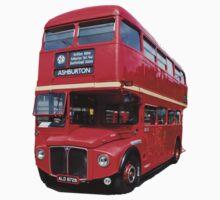 London Bus T & Hoodie One Piece - Short Sleeve