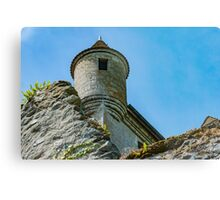Battlements Above Metal Print
