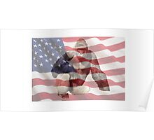 Harambe The American Dream T-Shirt Poster