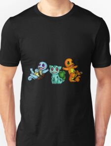 Adorable Kanto trio! Unisex T-Shirt