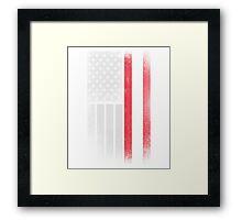 Austrian American Flag - Half Austrian Half American Shirt Framed Print
