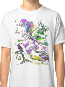 abstract glitch tech T Classic T-Shirt