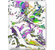 abstract glitch tech T iPad Case/Skin