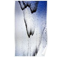 Water over Glass Poster