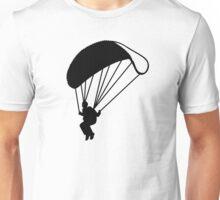 Skydiving parachutist Unisex T-Shirt