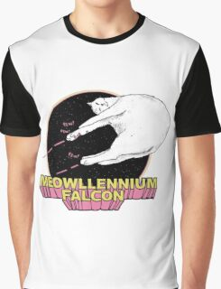 Meowllenium Falcon Graphic T-Shirt