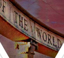 End of the world Sticker