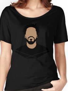 J Cole Minimalistic Cartoon Women's Relaxed Fit T-Shirt