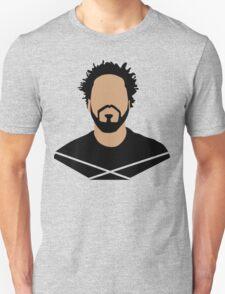 J Cole Minimalistic Cartoon Unisex T-Shirt