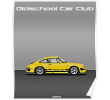 Oldschool yellow 911  Poster
