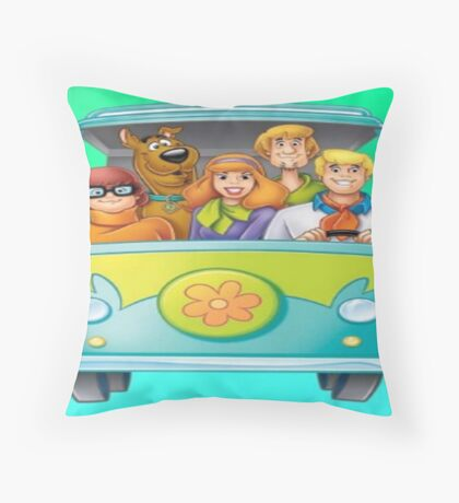 SCOOBY GANG Throw Pillow