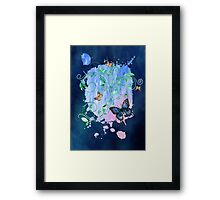 Watercolour Butterfly 04 Framed Print