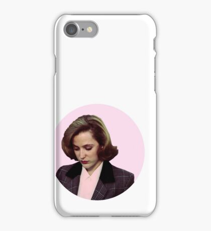 pink scully! iPhone Case/Skin