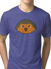 Adorable European robin Tri-blend T-Shirt