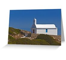 Chapel by the sea (I) Greeting Card