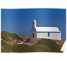 Chapel by the sea (I) Poster