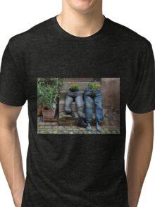 Flower Pots Tri-blend T-Shirt