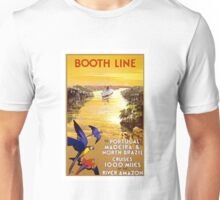 Vintage Portugal and Brazil Cruise Travel Unisex T-Shirt