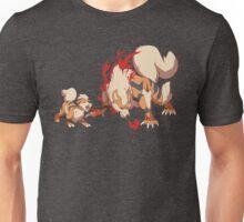 Growlithe & Arcanine Unisex T-Shirt