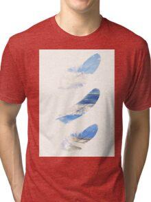 dreamy feathers Tri-blend T-Shirt