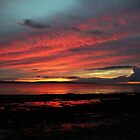 Enniscrone, in Red and Blue. by Maybrick