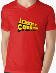 Jeremy Corbyn Mens V-Neck T-Shirt