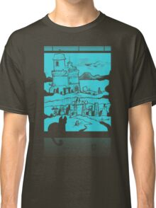 Adventure Awaits (Light Blue) Classic T-Shirt
