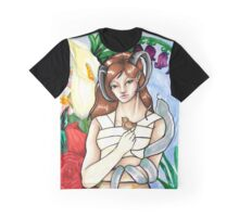 Fawn Fairy Forest Nymph Graphic T-Shirt